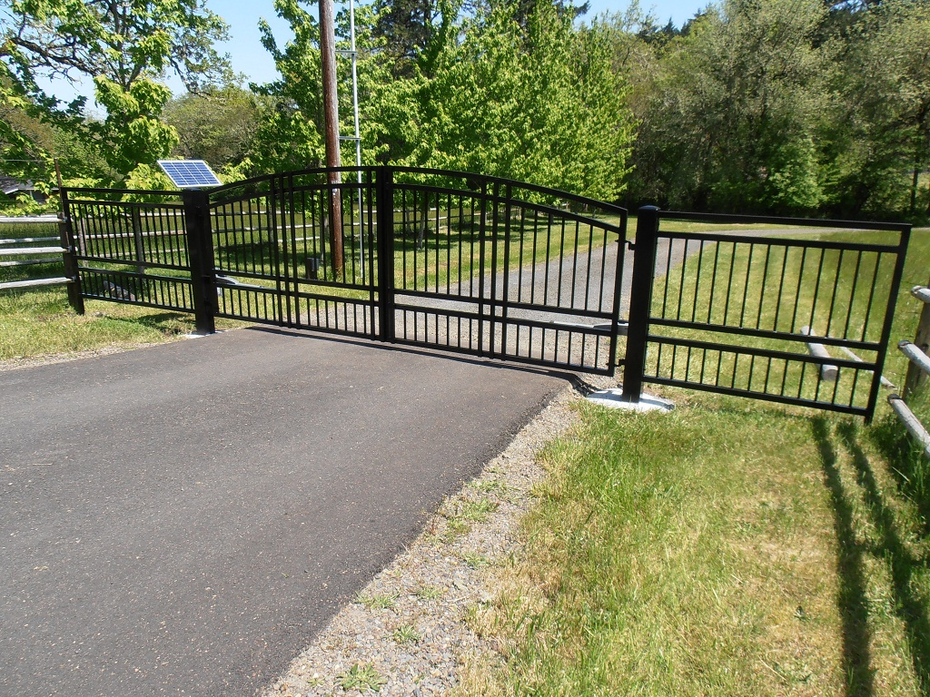 Access Control Unlimited provides custom security gates and metal work for Oregon homes & businesses.